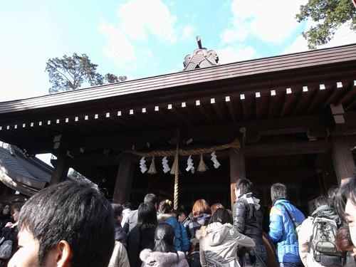 飛鳥坐神社(おんだ祭)@明日香村-16