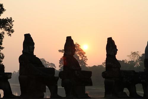 Bayon entrance, Angkor Wat, Siem Reap