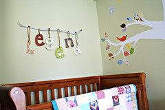 tree nursery pattern play (the joyeful journey) Tags: vintage nusery treemural