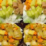 野菜のちカレー the vegetable and the curry afterwards (parallel 3D) thumbnail