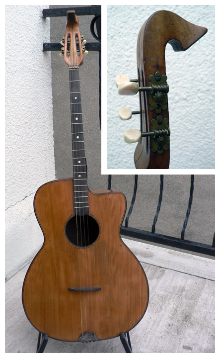 Jacobacci Tenor Guitar
