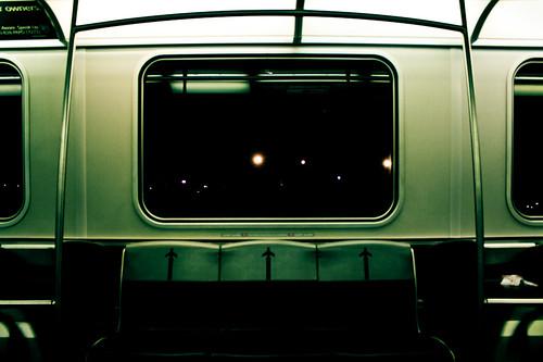 On the train by Dan Terzian.