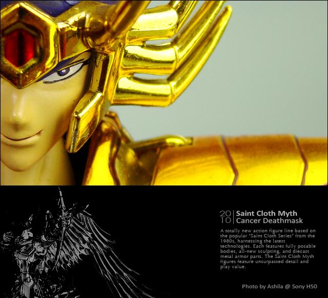 黃金聖衣 巨蟹座.迪司馬斯克