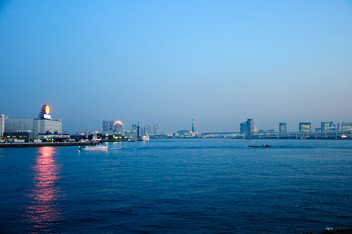 Sumida river mouth