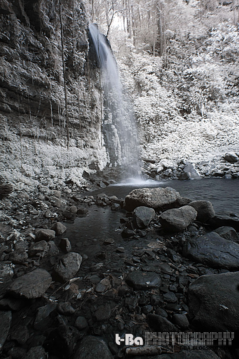 Mahua Waterfall - Infrared