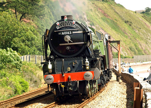 Locomotive - Tornado hauling the Torbay Express