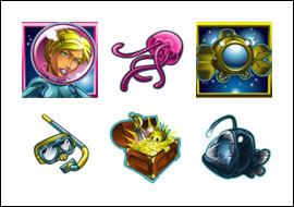 free Jellyfish Jaunt slot game symbols