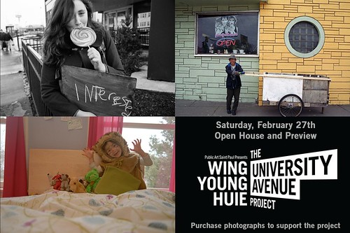 Wing Young Huie, The University Avenue Project, Open House and Preview Benefit