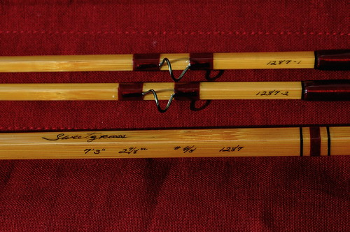 Sweetgrass Series 7'3''  Pent 4/5 Weight Bamboo Fly Rod