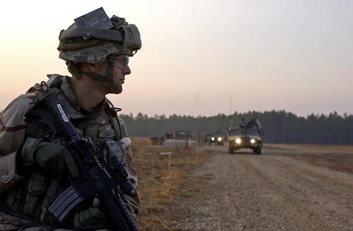 Un militar de EEUU