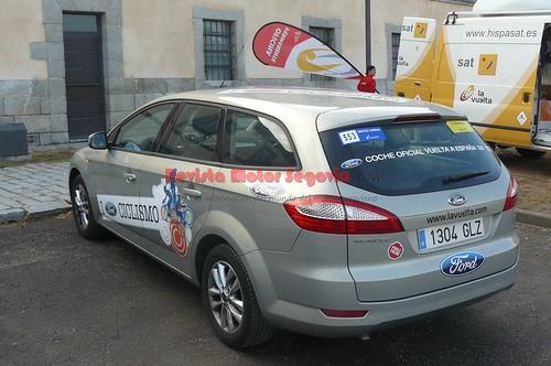 Ford se cae como patrocinador del vehículo oficial de la prueba
