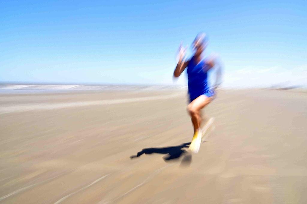 Para-atleta, Vladimi foi atropelado e sobreviveu. Vai agradecer correndo 50,8 km. Crédito: Eduardo Beleske