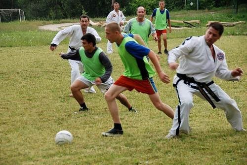 Meci de Fotbal-Taekwon-Do