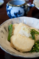 揚げ出し豆腐, 亀の井別荘 湯の岳庵, 湯布院