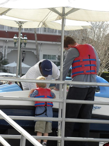 "Austin asked the boat manager several questions about his safety before he said ""yes"" to the trip.  Austin is my cautious boy!"
