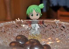Yotsuba and the Minstrels (redrickshaw) Tags: chocolate minstrels yotsuba