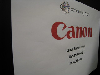 Canon Blogger Event #1 01042009