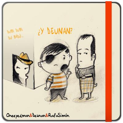 Oneeyedman, Deunan y Rafa Simón