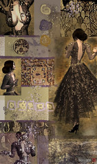 Homage To Klimt ~ Judith (Morgana Nagorski) Tags: collage emotion expression avatar digitalart photomosaic klimt sl secondlife montage photomontage homage gustavklimt feelings alternativereality morgana virtualworld virtualphotography virtualart 3dworld virtualworldart morgananagorski