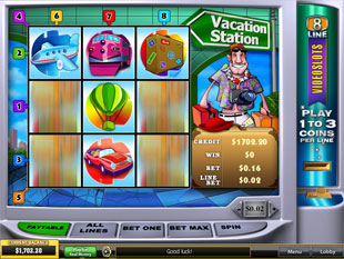 Vacation Station slot game online review