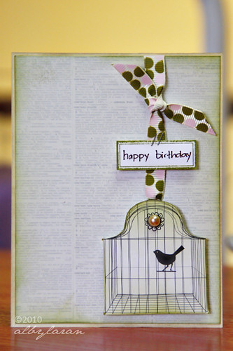 Birthday Birdcage