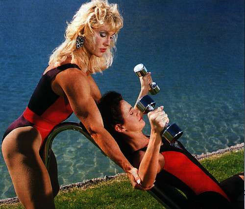 Workout with a lesbian touch (literally) - a photo on Flickriver