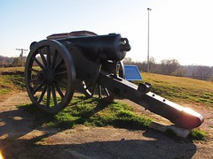 IMG_7795 (LordWalt Thanks for 6.1 million views) Tags: park old city travel blue sky usa green canon mississippi daylight nationalpark scenery gun view state south peaceful powershot historic civilwar daytime tranquil vicksburg sx10is waltphotos wjwno243
