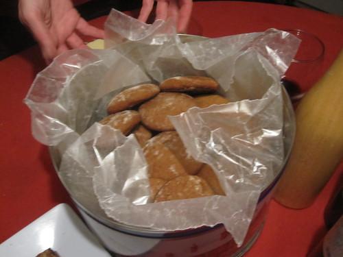 molasses galette