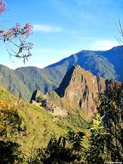 Machu Picchu de lluny (Perú)
