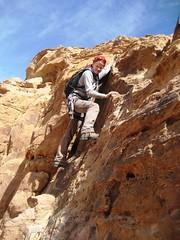 On Jebel Mayeen, Wadi Rum (andywalker1) Tags: wadirum petra jordan andrewwalker andywalker jebelmayeen