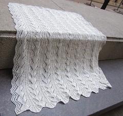 Ravelry Heirloom Knit Baby Blanket Pattern By Craft Yarn