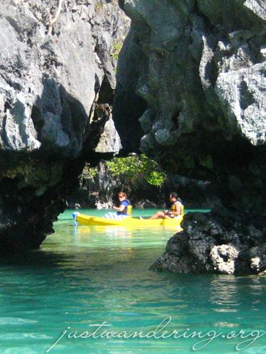 Entrance to Small Lagoon