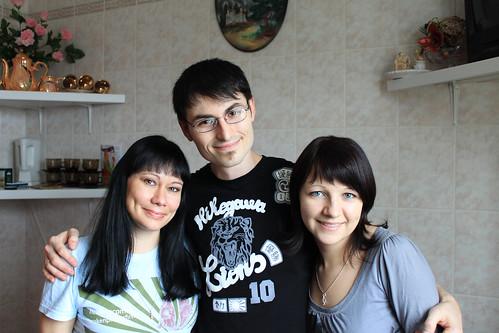 Edna, Dima, and Svita