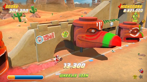 Joe Danger PSN Screenshot 1