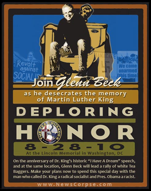 Glenn Beck Deploring Honor