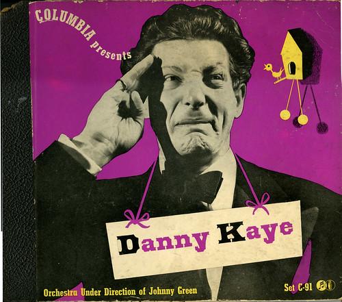 Danny Kaye 78s_front cover_tatteredandlost
