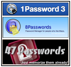 All of these passwords!