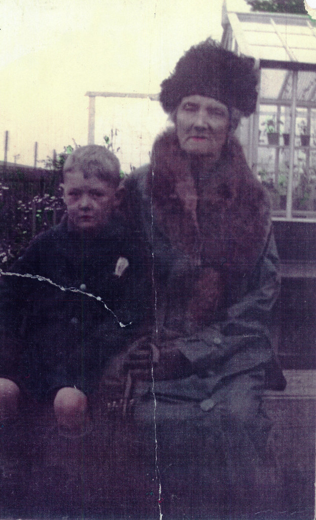 John Young and Grandmother, 1930s.