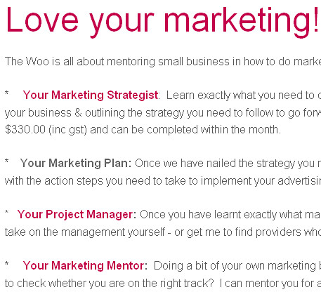 Social Small Biz Case Study: The Woo