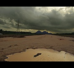 Monsoon glow (laijuyesh) Tags: sky water hill monsoon tamilnadu southindia
