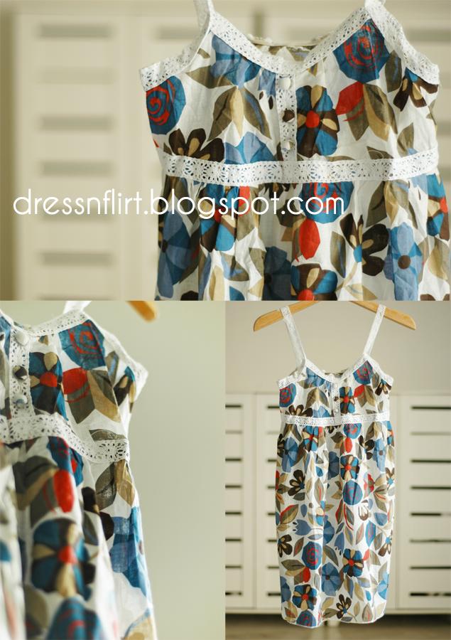 summer  dress blue collage