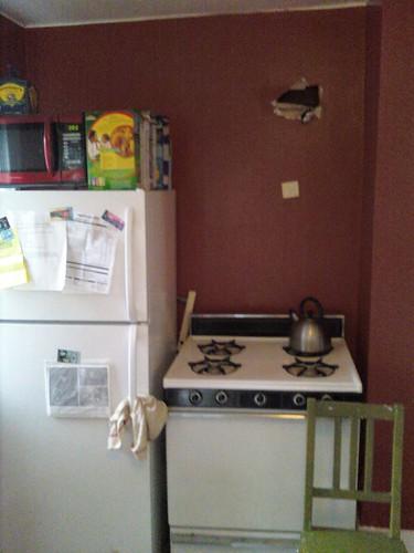 Microwave Hood Step 2