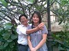 Dr.Tran Manh Tien and Postgraduate.Pham Thi  Xuan Chau at Vietnam National Library,3/2010