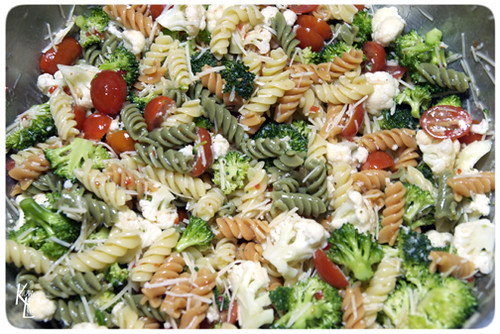 Day 75 - Veggie Pasta Salad