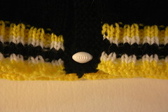 Baby Steelers Jacket - Buttons (1)