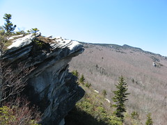 Crag, with Callaway Peak in the distance Photo