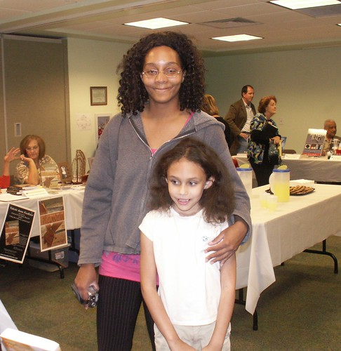 Author Fair, Land O'Lakes Library: Lakisha Spletzer and Alea