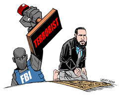 How Muslims are Seen from http://www.bordc.org/blog/does-fbi-really-believe-all-muslims-are-terrorists