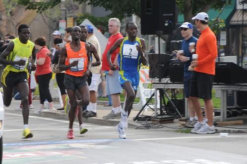 LA Marathon 2010 Elite Men 12 Wesley Korir
