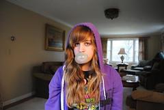 bubble gum (@l3x.$@nch3z) Tags: gum bubblegum purplehoodie alexsanchez